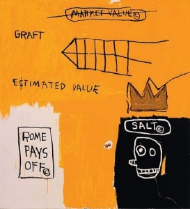 Rome Pays Off-Jean Michel Basquiat
